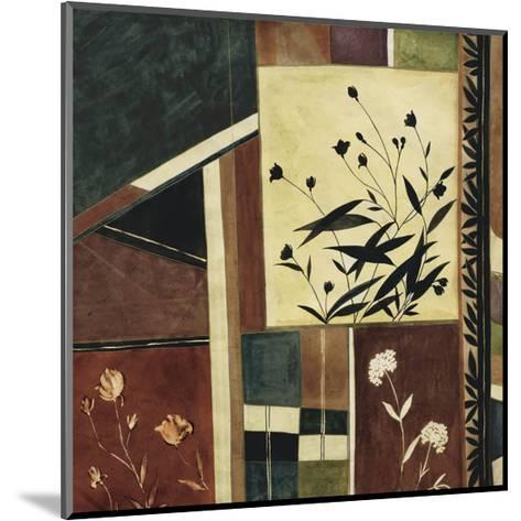 Botanical Batik-Dominique Gaudin-Mounted Art Print
