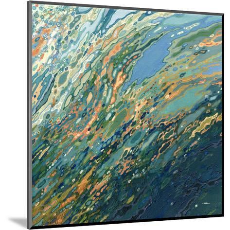 Blue Ocean Sunset-Margaret Juul-Mounted Art Print