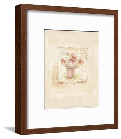 Blush Blossoms-Jane Claire-Framed Art Print