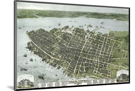 Bird?s Eye View of the City of Charleston, South Carolina, 1872-C^N^ Drie-Mounted Art Print