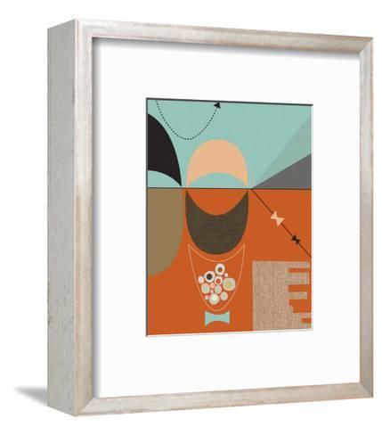 Bow Tie-Jenn Ski-Framed Art Print