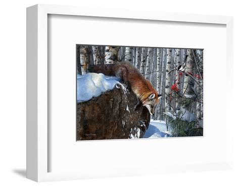 Blindsided-Kevin Daniel-Framed Art Print