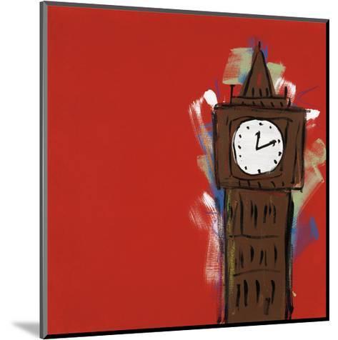 Big Ben-Brian Nash-Mounted Art Print