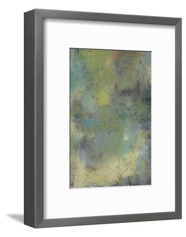 Blue and Green Musings I-Jeannie Sellmer-Framed Art Print