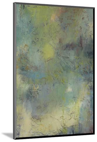 Blue and Green Musings I-Jeannie Sellmer-Mounted Art Print