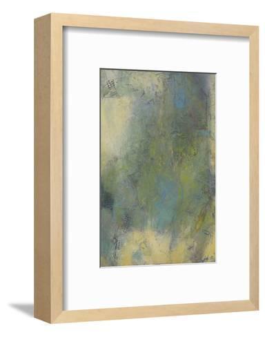 Blue and Green Musings III-Jeannie Sellmer-Framed Art Print