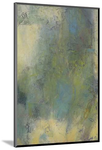 Blue and Green Musings III-Jeannie Sellmer-Mounted Art Print