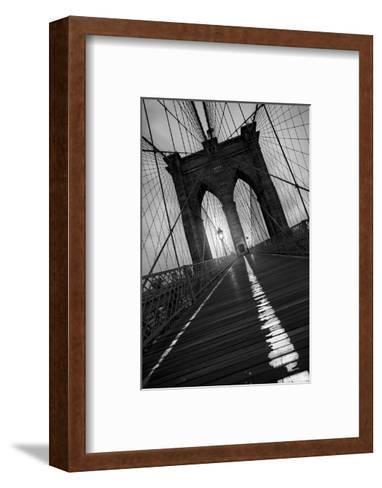 Brooklyn Bridge 1, 2010-Moises Levy-Framed Art Print