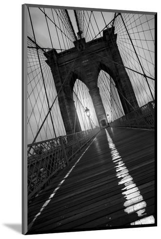 Brooklyn Bridge 1, 2010-Moises Levy-Mounted Art Print