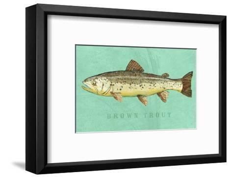 Brown Trout-John W^ Golden-Framed Art Print