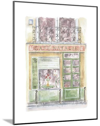 Cafe Natalie-Jane Claire-Mounted Art Print