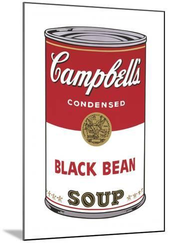Campbell's Soup I: Black Bean, 1968-Andy Warhol-Mounted Art Print