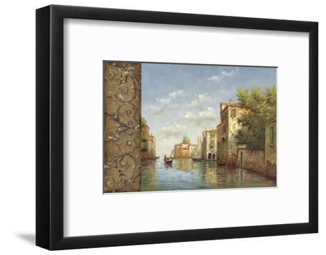 Canal I-Aretino-Framed Art Print