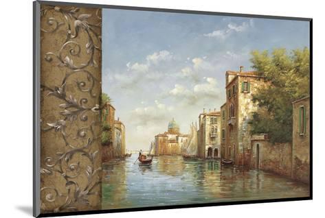 Canal I-Aretino-Mounted Art Print