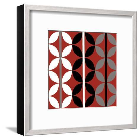 Checker-Denise Duplock-Framed Art Print