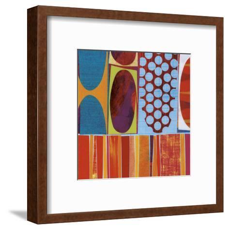 Carnivale (detail)-Rex Ray-Framed Art Print