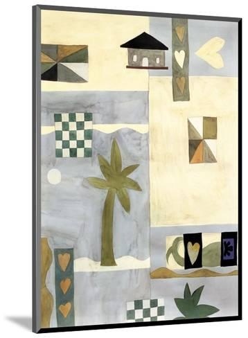Checkerboard Travel II-Muriel Verger-Mounted Art Print