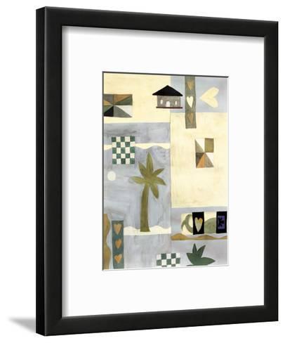 Checkerboard Travel II-Muriel Verger-Framed Art Print