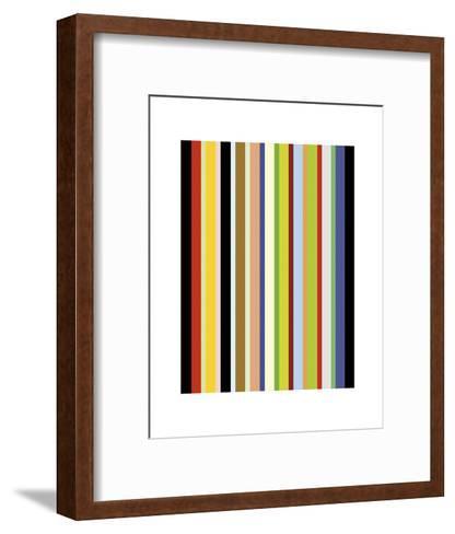 Candy Stripe-Dan Bleier-Framed Art Print