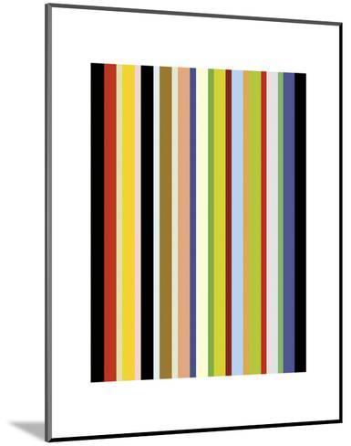 Candy Stripe-Dan Bleier-Mounted Art Print