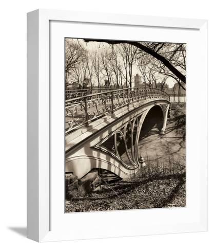 Central Park Bridges 3-Chris Bliss-Framed Art Print
