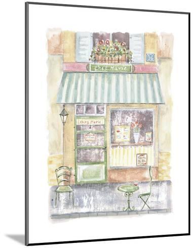 Chez Marie-Jane Claire-Mounted Art Print