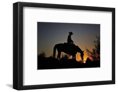 Chasin the Sun-Barry Hart-Framed Art Print