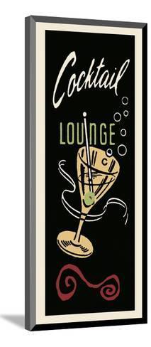 Cocktail Lounge-Retro Series-Mounted Art Print