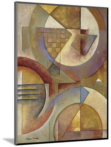 Circular Rhythms I-Marlene Healey-Mounted Art Print