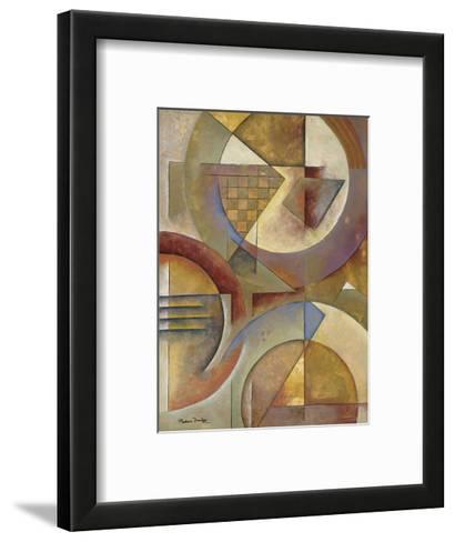 Circular Rhythms I-Marlene Healey-Framed Art Print