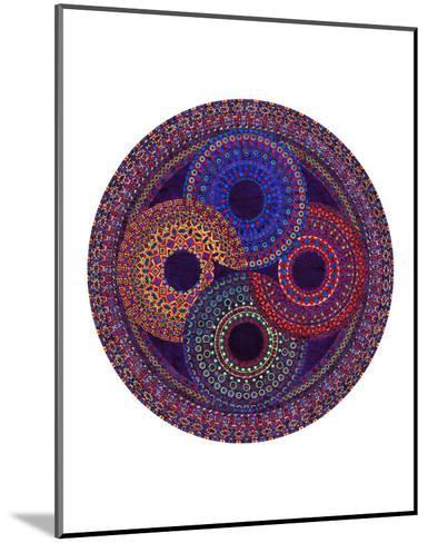 Circular Shifting-Lawrence Chvotzkin-Mounted Art Print