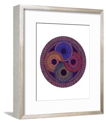 Circular Shifting-Lawrence Chvotzkin-Framed Art Print