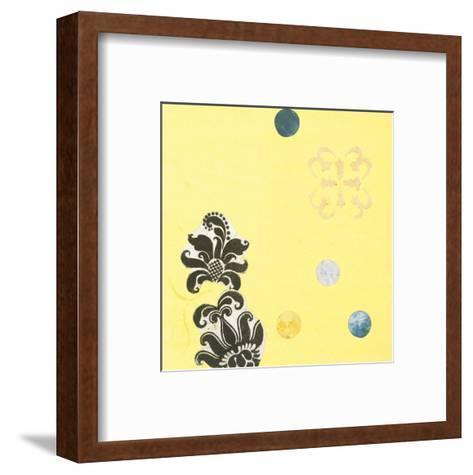 Delightful in Creamery Yellow I-Yafa-Framed Art Print