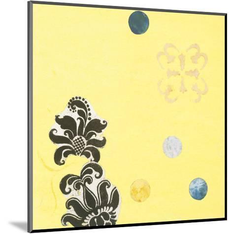 Delightful in Creamery Yellow I-Yafa-Mounted Art Print