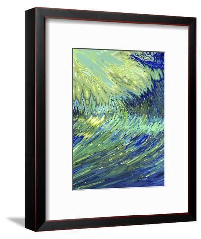Curving Underwater-Margaret Juul-Framed Art Print