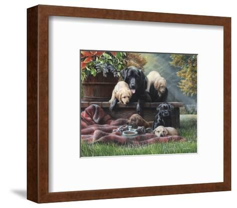 Cozy Moments-Kevin Daniel-Framed Art Print