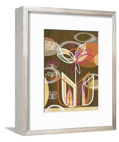 Dahlia Motif-Linda Ketelhut-Framed Art Print