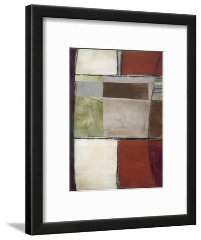 Deja vu II-Luis Parra-Framed Art Print