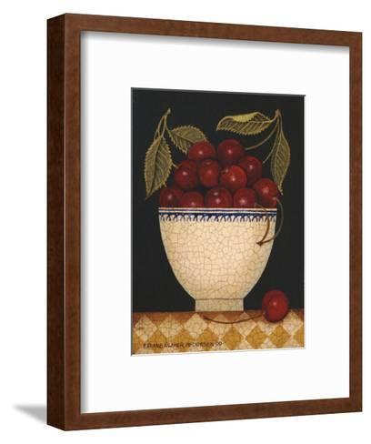 Cup O Cherries-Diane Ulmer Pedersen-Framed Art Print
