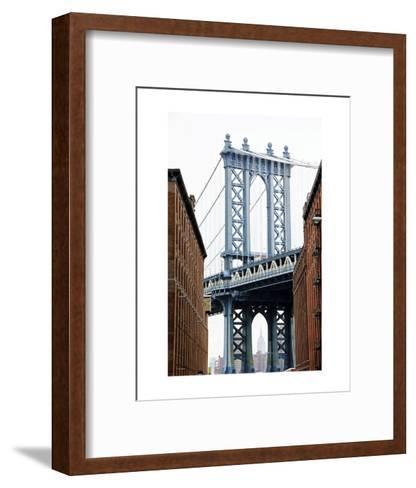 DUMBO View-Erin Clark-Framed Art Print