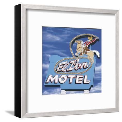 El Don-Anthony Ross-Framed Art Print