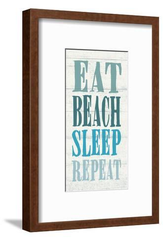 Eat, Beach, Sleep, Repeat-Sparx Studio-Framed Art Print