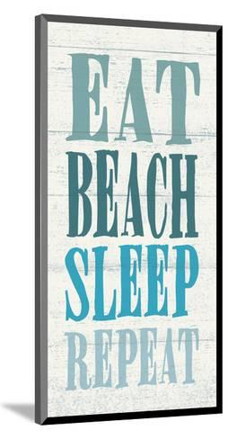 Eat, Beach, Sleep, Repeat-Sparx Studio-Mounted Art Print