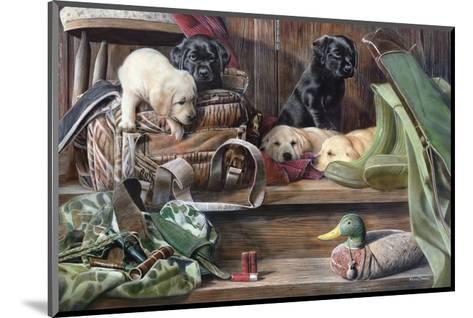 Dog Tired 2-Kevin Daniel-Mounted Art Print