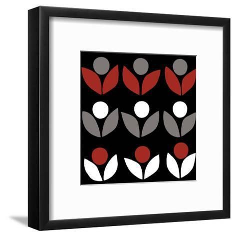 Domino-Denise Duplock-Framed Art Print