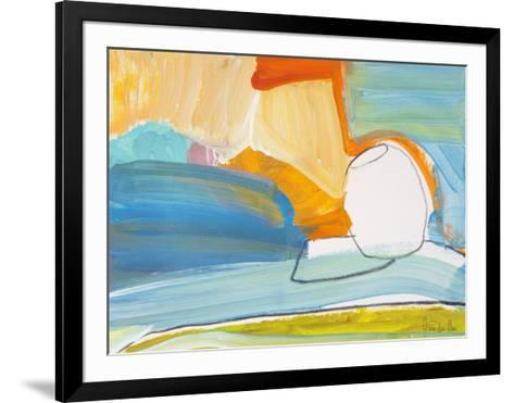 Pot by the Sunny Window-Joan Davis-Framed Art Print