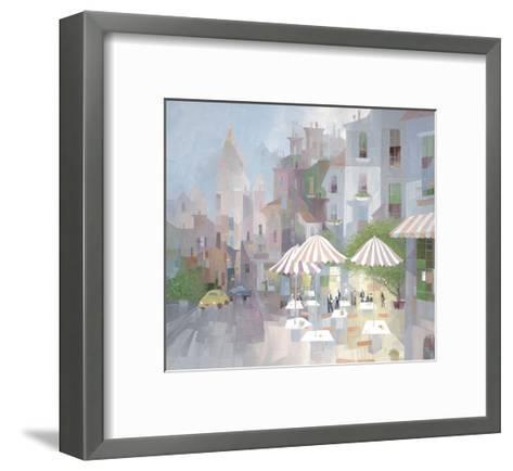 Place du Tertre-Albert Swayhoover-Framed Art Print