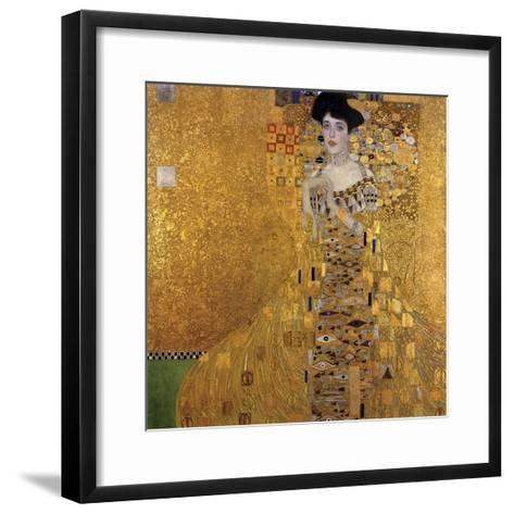 Portrait of Adele Bloch-Bauer I, 1907-Gustav Klimt-Framed Art Print