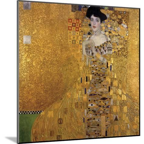 Portrait of Adele Bloch-Bauer I, 1907-Gustav Klimt-Mounted Art Print