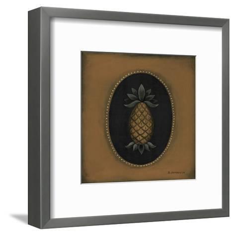 Pineapple 04-Barbara Jeffords-Framed Art Print